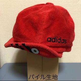 アディダス(adidas)のadidas    パイル生地 アディダス 帽子 キャップ ハンチング ベレー帽(ハンチング/ベレー帽)
