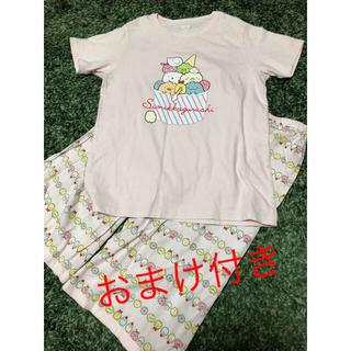 ユニクロ(UNIQLO)のユニクロ すみっコぐらし Tシャツ リラコ 150 おまけ付き(Tシャツ/カットソー)