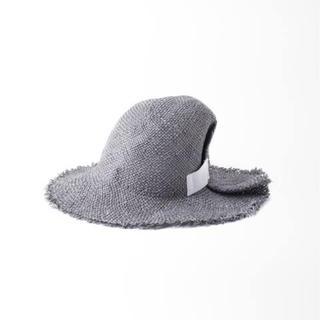 イエナ(IENA)のLa Maison de Lyllis ラメゾンドリリス FOLD ハット 新品(麦わら帽子/ストローハット)