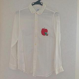 グラニフ(Design Tshirts Store graniph)のグラニフ はらぺこあおむし 白シャツssサイズ(シャツ/ブラウス(長袖/七分))