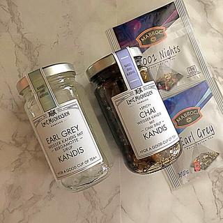 カルディ(KALDI)のキャンディス アールグレイ&チャイ ティーバック3種類(缶詰/瓶詰)