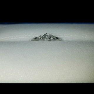 ジルスチュアート(JILLSTUART)の最終値下げ ジルスチュアート ブライダル pt900 ダイヤモンドリング(リング(指輪))