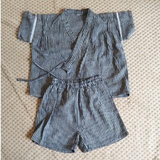 ムジルシリョウヒン(MUJI (無印良品))の無印良品 甚平90size(甚平/浴衣)