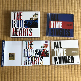 THE BLUE HEARTS  ALL TIME SINGLES (ポップス/ロック(邦楽))