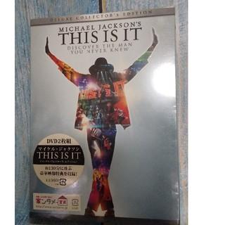 マイケルジャクソン💐THIS  IS  IT 🙆DVD(ミュージック)