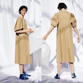 エンフォルド(ENFOLD)の新品タグ付き‼️ENFOLDエンフォルド 立体袖 フレアーワンピース(ひざ丈ワンピース)