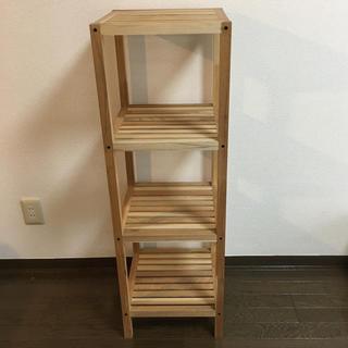 フランフラン(Francfranc)の木製シェルフ 3段(棚/ラック/タンス)