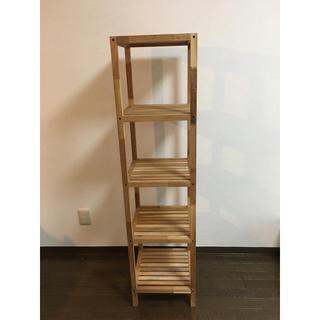 フランフラン(Francfranc)の木製シェルフ 4段(棚/ラック/タンス)