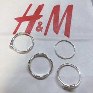 エイチアンドエム(H&M)のH&M リング シルバー(リング(指輪))
