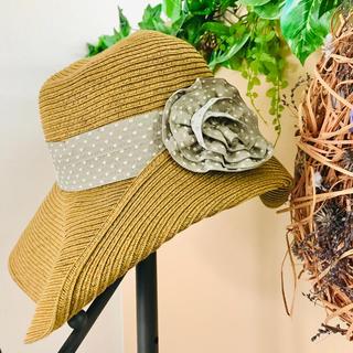STRAWBERRY-FIELDS - ストロベリーフィールズ   麦わら帽子 ハット