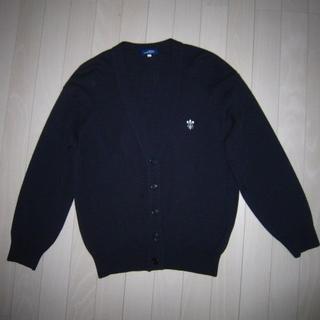 トンボエンピツ(トンボ鉛筆)の408 紺色【スクールカーディガン】S 日本製(カーディガン)