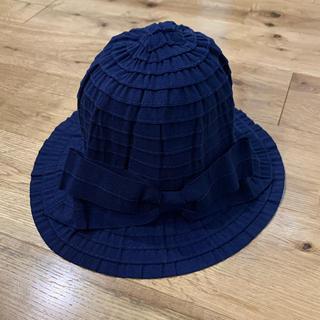サンカンシオン(3can4on)の3can4on サンカンシオン 女の子 ハット 帽子 折りたたみ 50cm(帽子)