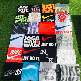 ナイキ(NIKE)のブランド古着 ナイキ NIKE スウッシュ 24枚 まとめ売り 送料込み X(Tシャツ/カットソー(半袖/袖なし))