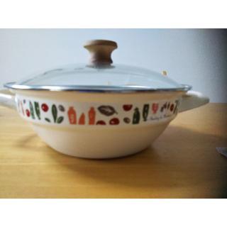 アフタヌーンティー(AfternoonTea)の未使用 アフタヌーンティ ホーロー鍋(鍋/フライパン)