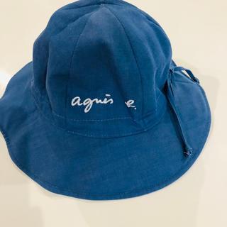 アニエスベー(agnes b.)のアニエスベーkids リバーシブルハット(帽子)