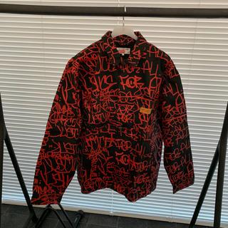 シュプリーム(Supreme)のSupreme Painted Canvas Chore Coat XL (Gジャン/デニムジャケット)