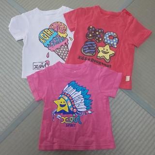 エックスガール(X-girl)のエックスガール 2T90センチ3T100センチ(Tシャツ/カットソー)