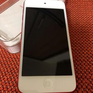 アイポッドタッチ(iPod touch)の第6世代 iPod touch PRODUCT RED 32GB(ポータブルプレーヤー)