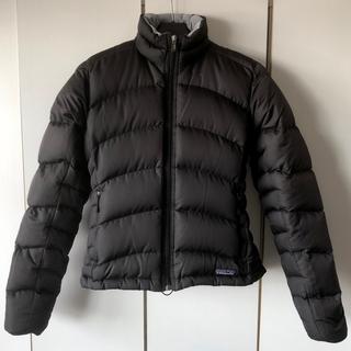 パタゴニア(patagonia)のパタゴニア ダウン レディースSサイズ〔ブラック〕(ダウンジャケット)