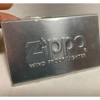 ジッポー(ZIPPO)の【新品未使用】zippo 名刺入れ(名刺入れ/定期入れ)