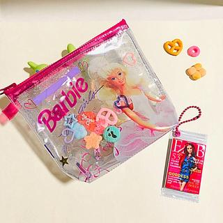 バービー(Barbie)の新作✨超レア‼️お菓子ポーチ⭐️コスメポーチ(少し大きめ)⭐️リメイクポーチ⭐️(ポーチ)