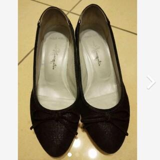 ギンザカネマツ(GINZA Kanematsu)の美品 銀座かねまつ レインシューズ AQUA BELL 22.5(レインブーツ/長靴)