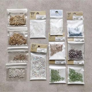 キワセイサクジョ(貴和製作所)のチェコビーズ ファイヤーポリッシュ 8色 12袋(各種パーツ)