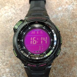 カシオ(CASIO)のCASIO プロトレック PRO TREK限定モデル PRG-110CJ(腕時計(デジタル))