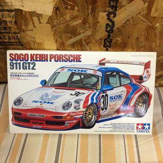 ポルシェ(Porsche)の◎ タミヤ  綜合警備ポルシェ911 GT2 ◎(模型/プラモデル)