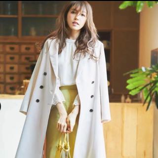 ジャスグリッティー(JUSGLITTY)の☆新品未使用☆ジャスグリッティー バックボリュームベルテッドコート(トレンチコート)