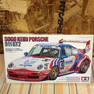 ポルシェ(Porsche)の◎ タミヤ  綜合警備ポルシェ911 GT2 ◎ 02(模型/プラモデル)