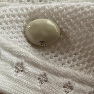 シャネル(CHANEL)のシャネル トップス プルオーバー 未使用 白(カットソー(半袖/袖なし))