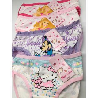 ハローキティ(ハローキティ)の7枚セット 新品 女の子パンツ90~100  可愛い 下着(下着)