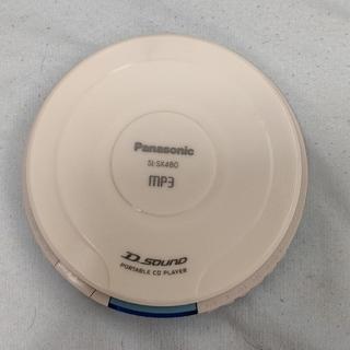 パナソニック(Panasonic)のポータブルCDプレイヤー(価格下げます)(ポータブルプレーヤー)