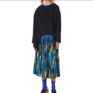 エンフォルド(ENFOLD)のタグ付き 未使用 ENFOLD プリーツスカート(ロングスカート)
