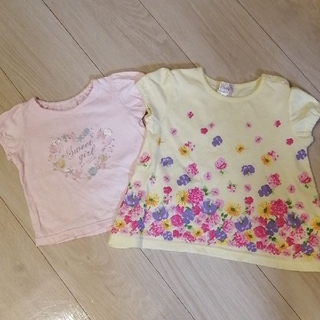 Tシャツ 女の子 トップス80 90(Tシャツ)