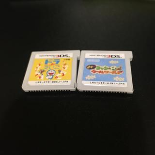 ニンテンドー3DS(ニンテンドー3DS)のドラえいご ヨッシーウールワールド 3ds(携帯用ゲームソフト)