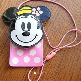 ディズニー(Disney)の【TDR】ミニーマウスパスケース♡(定期入れ)