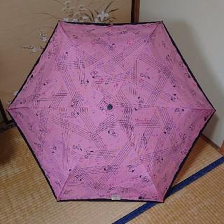 スヌーピー(SNOOPY)のスヌーピーの折りたたみ傘 🌂 ピンク‼️(傘)