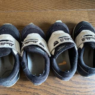 ダブルビー(DOUBLE.B)のダブルB  靴 17cm  2組(スニーカー)