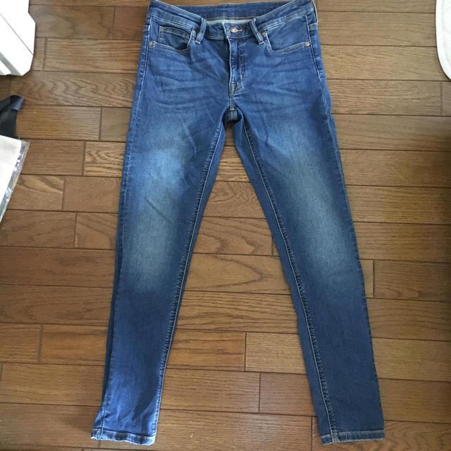 MUJI (無印良品)(ムジルシリョウヒン)のスーパーストレッチスキニー アンクル丈 レディースのパンツ(デニム/ジーンズ)の商品写真