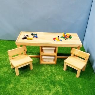 2人掛けレゴテーブル(おもちゃ/雑貨)