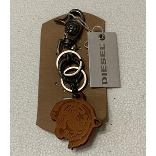 ディーゼル(DIESEL)のDIESEL Keychain Skull ディーゼルドクロキーチェーン 新品!(キーホルダー)