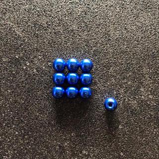 ミニ四駆 ボールキャップ x10 ダークブルー(模型/プラモデル)