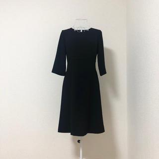 アオヤマ(青山)のi.m.g.n 洋服の青山 ブラックフォーマル ワンピース 7号(礼服/喪服)