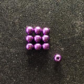 ミニ四駆 ボールキャップ x10 パープル(模型/プラモデル)