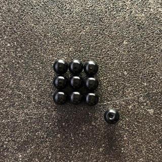 ミニ四駆 ボールキャップ x10 ブラック(模型/プラモデル)