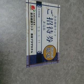 奈良健康ランド チケット 1枚(その他)