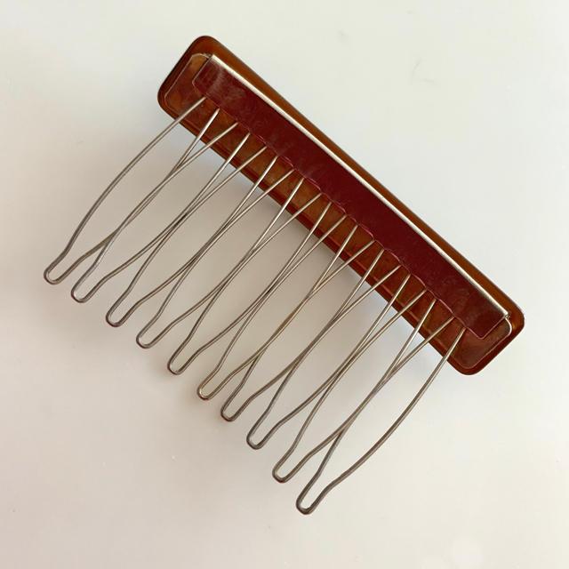acca(アッカ)の〈試着程度〉acca Wire Comb ワイヤーコーム レディースのヘアアクセサリー(その他)の商品写真