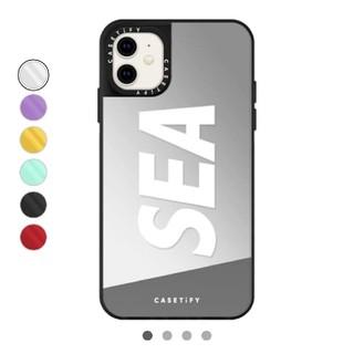 シー(SEA)のSEA スマホケース iphone  11用 シルバー(iPhoneケース)